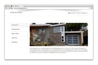 Access Garage Doors - garage doors page displayed in browser