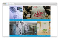 Indalma Creative - Home Page masonry gallery displayed in browser