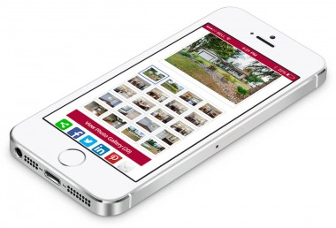 Julianne Maxwell - property gallery displayed in browser on iphone