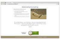 Ladner Website Development of Counselling Website