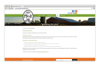 westham island herb farm web design