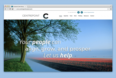Centrepoint Career management website