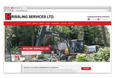 rissling services home page