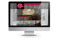 Stir Coffee Website on device