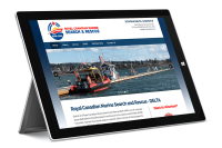 Delta marine Rescue society website