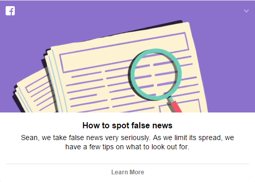 Facebook Fights Fake News