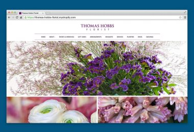 thomas hobbs florist website