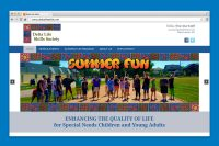 Delta Life Skills Website Home page