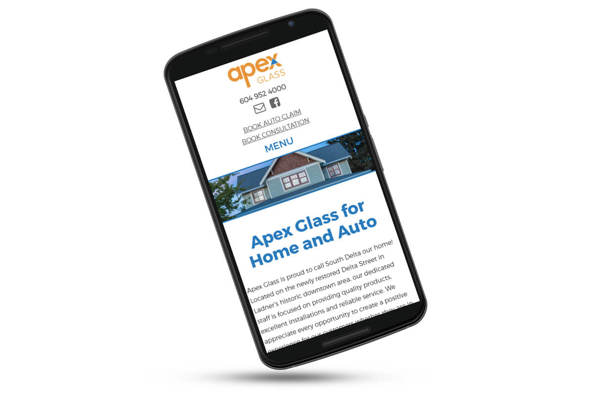 apex glass website on nexus 6