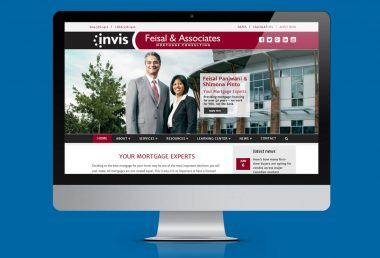 Feisal & Associates Website on mac