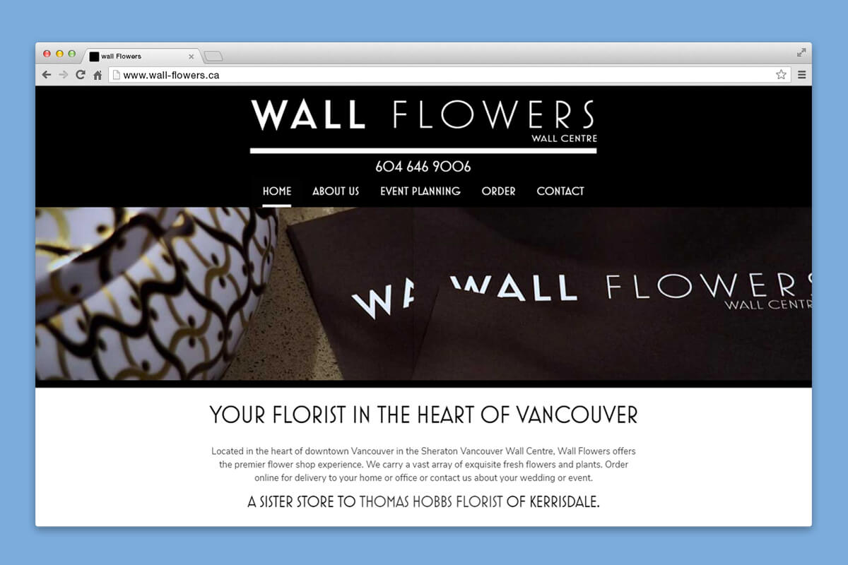 wall flowers website