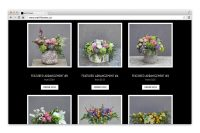 wall flowers website catalog