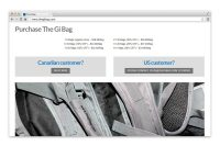 the gi bag website