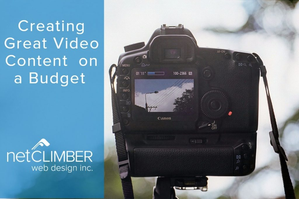 Creating great video content on a budget - tips and tricks for smb's