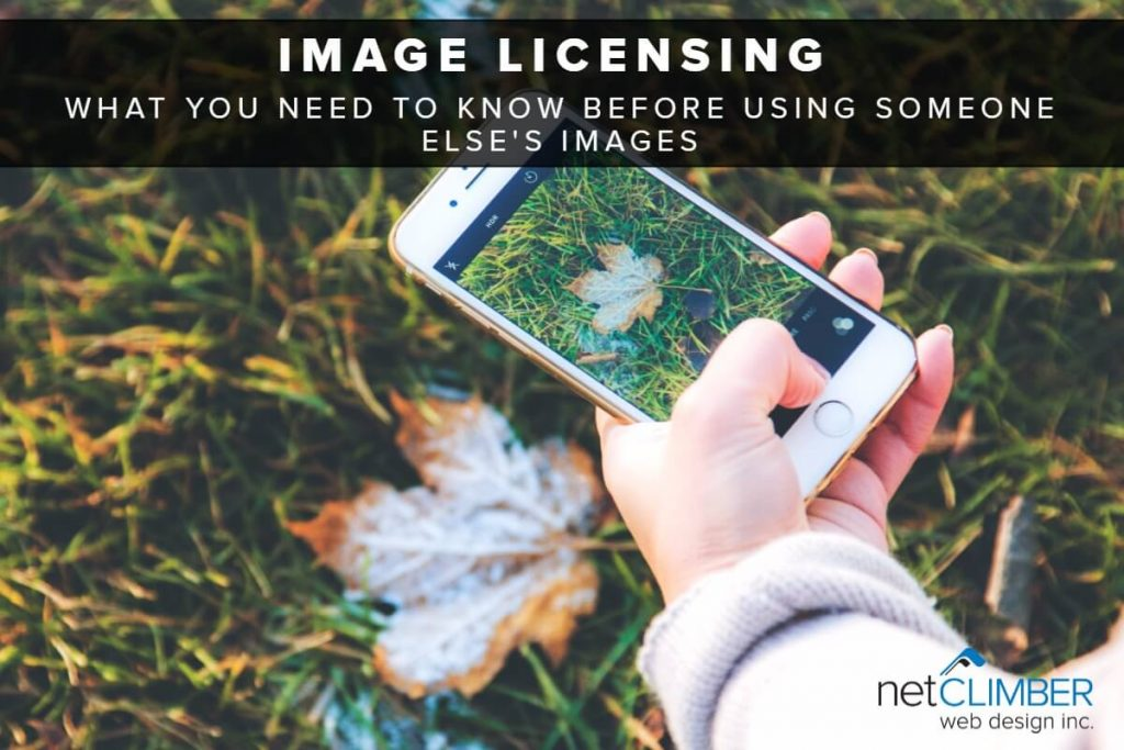 Image Licensing - guide to using other peoples images