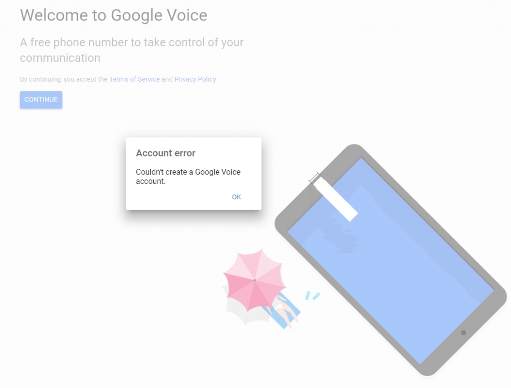 Google Voice Canada - No Longer Works