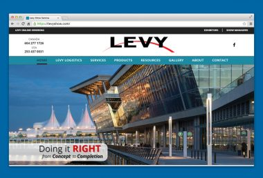 Levy Show Services Home Page
