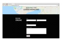BNK Landscaping Contact page