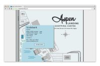 Aspen Landing Shopping Mall Store map