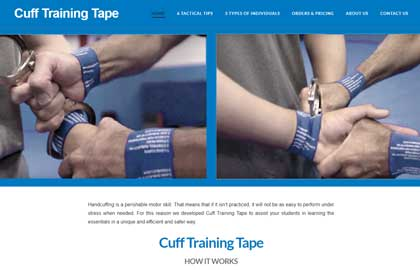 Cuff Training Tape Home Page