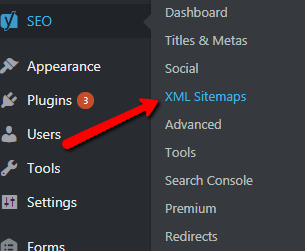 Sitemap Optimization with Yoast